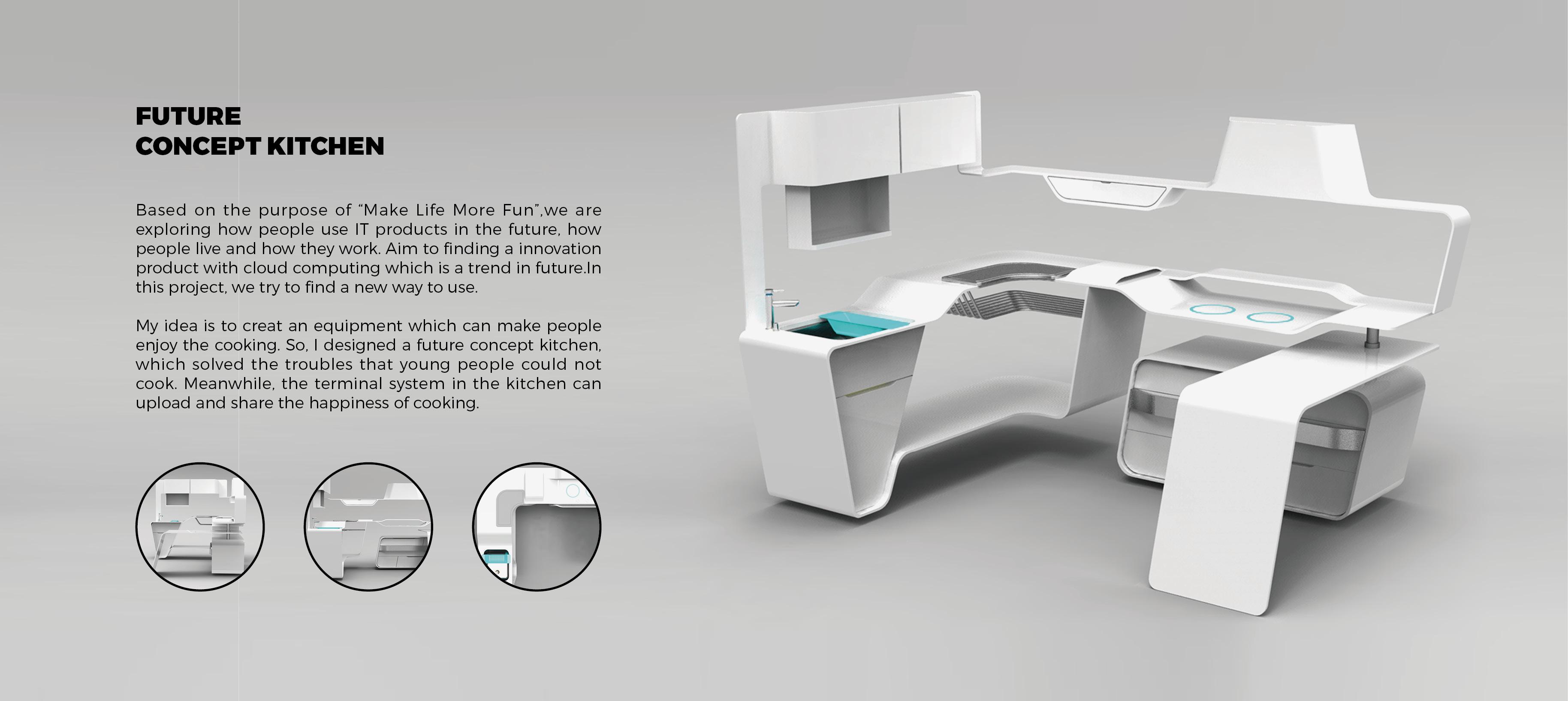 Smart kitchen for Smart kitchen design